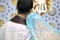 Hak Dan Kewajiban Suami Istri Dalam Rumah Tangga